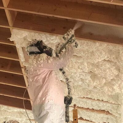 Installing Open-cell Spray Foam Insulation Las Vegas